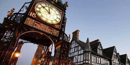 Chester - the Eastgate Clock