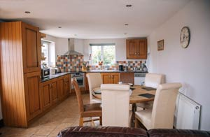 Miller's House Kitchen at Millmoor Farm Holidays