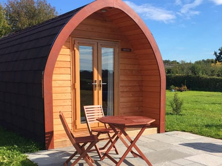Honeysuckle Pod - Bradley Hall Rural Escapes - Glamping in Cheshire